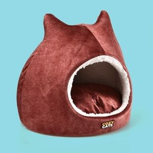 Ruby Cozy Cats Bed